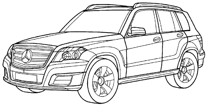 free coloring pages of c63 amg