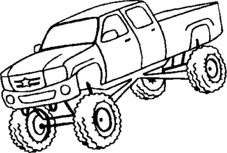 cardinal coloring pages preschool truck - photo#47